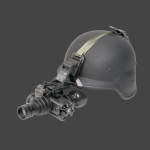 Shown With Optional Helmet and Mount