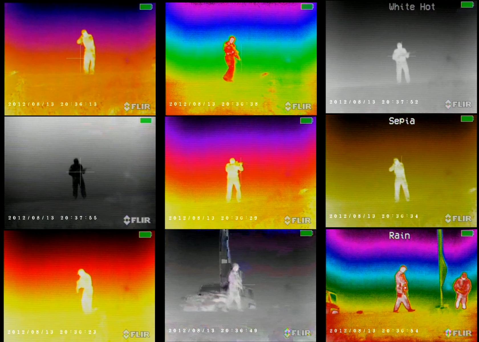 thermal imaging flir bi command ocular vision night under
