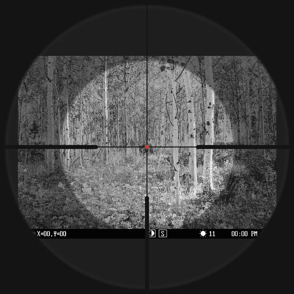 Pulsar Dfa75 Clip On Digital Night Vision System