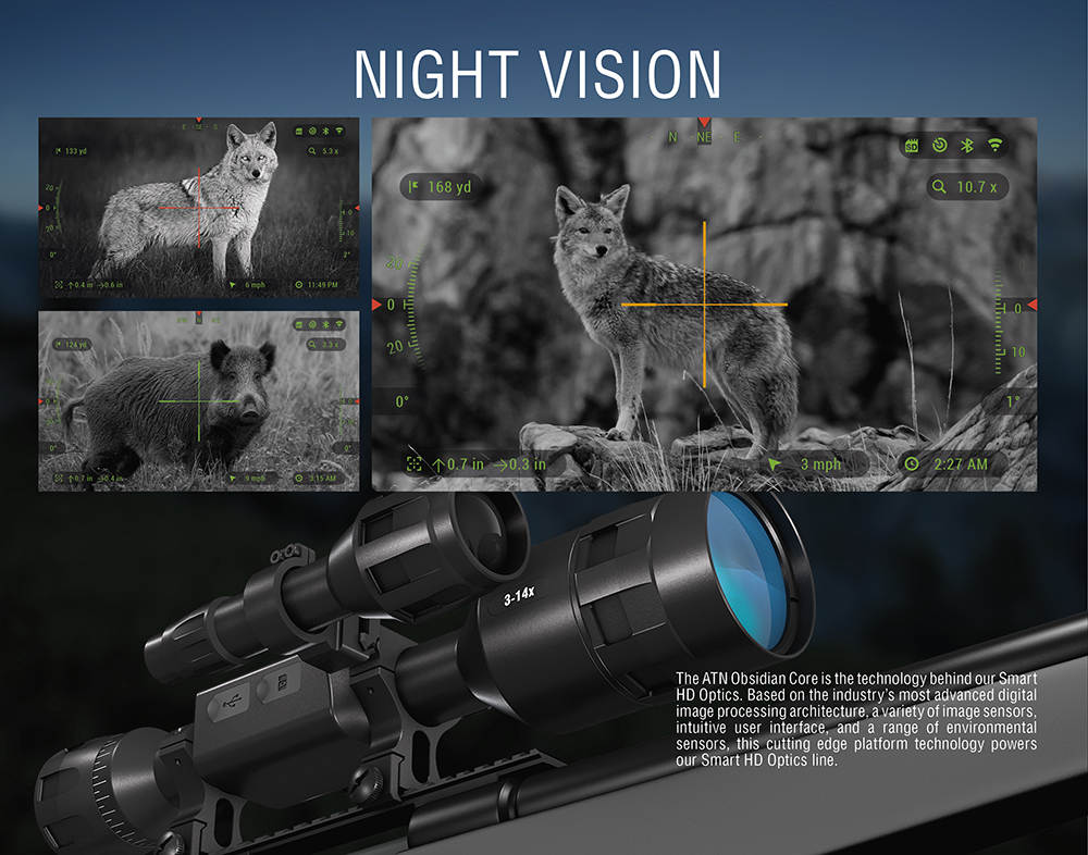 Atn X Sight 4k Pro Smart Day Night Scope